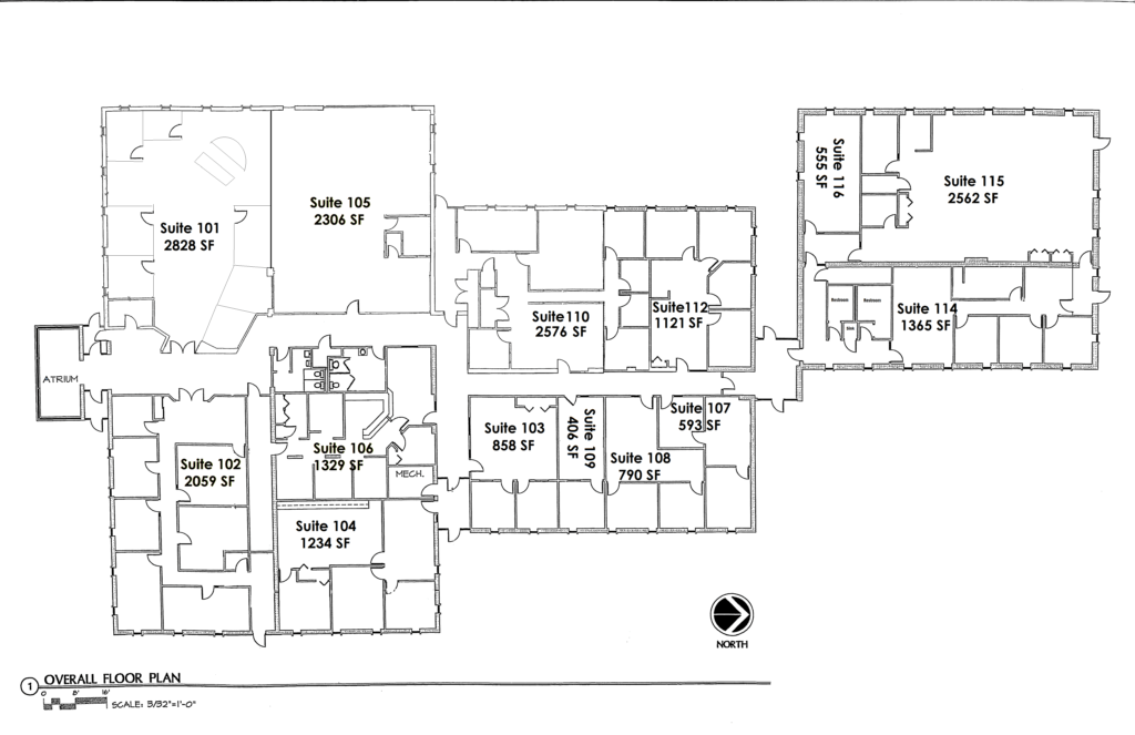 1600 Madison Ave Blank Floor Plan 011818 Brennan Construction