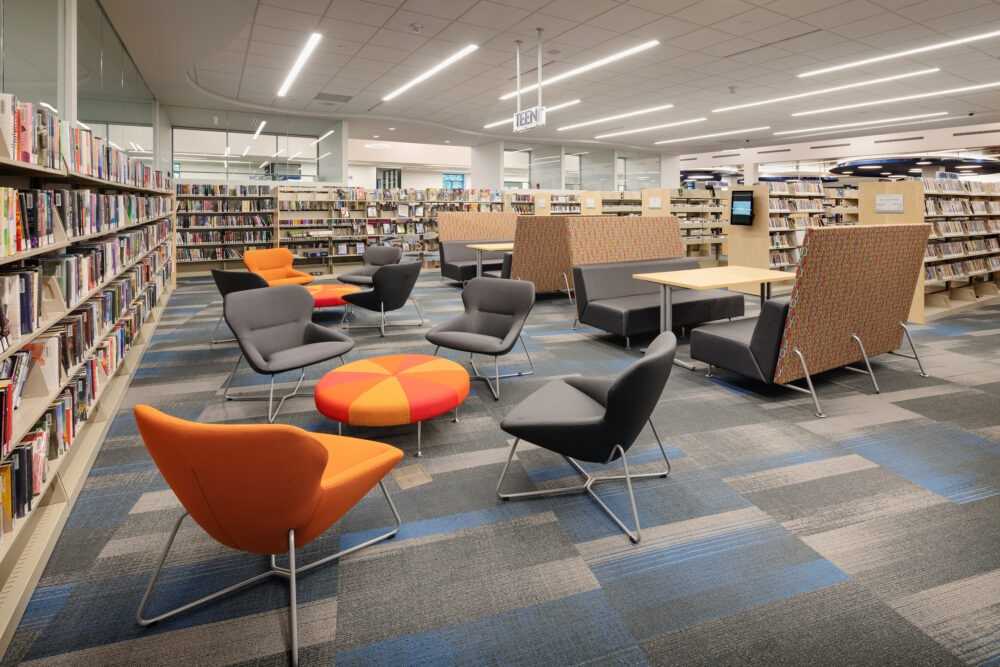 Galaxie Library | Apple Valley, MN | Renovation: BTR